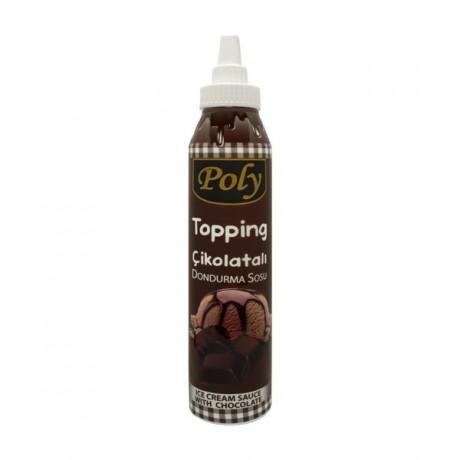 Poly Çikolatalı Dondurma Sosu