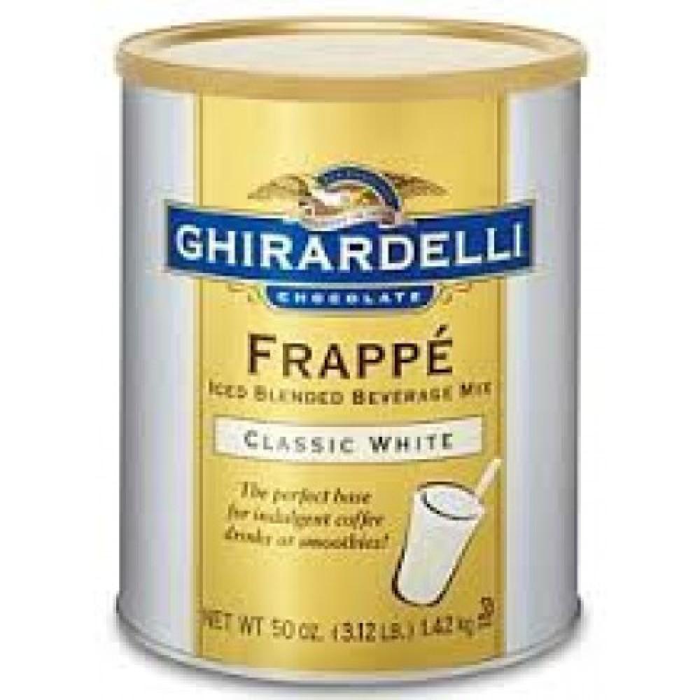 GHIRARDELLI Beyaz Frappe Tozu 1.42 Kg.